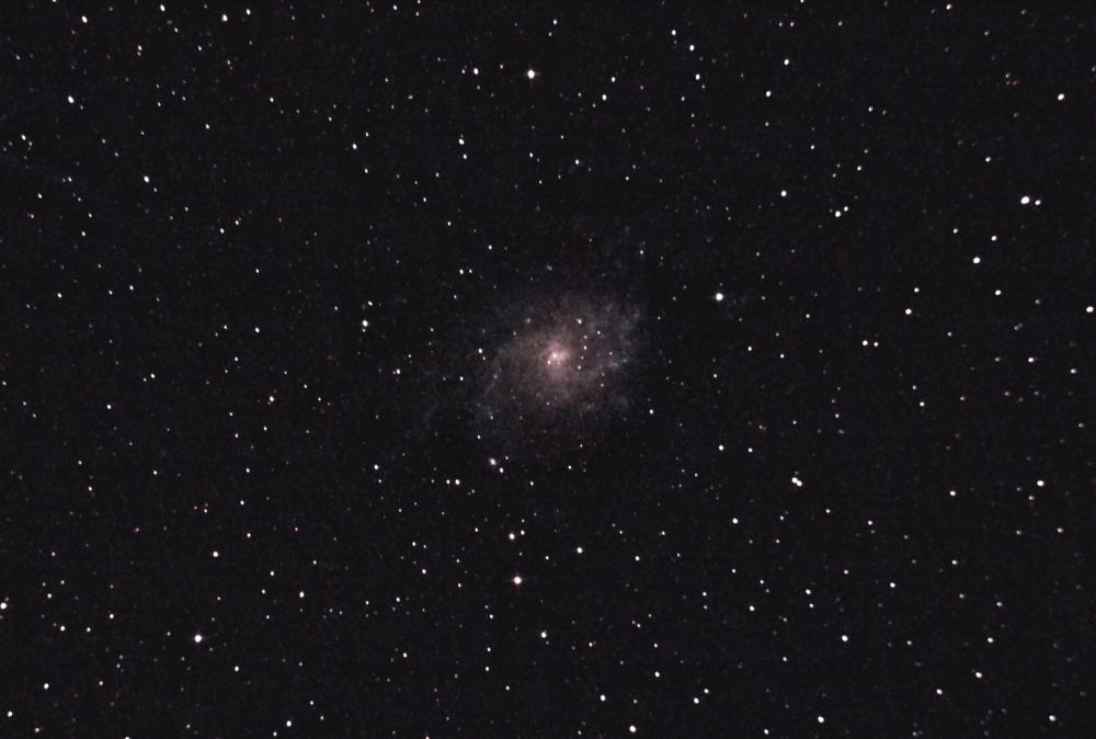 М33 Галактика в Треугольнике. 05.08.2021