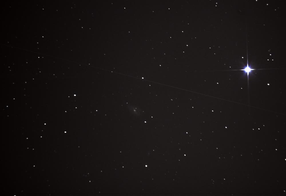 Галактика Пылесос М 109 в созвездии Большой медведице. 10.04.2021