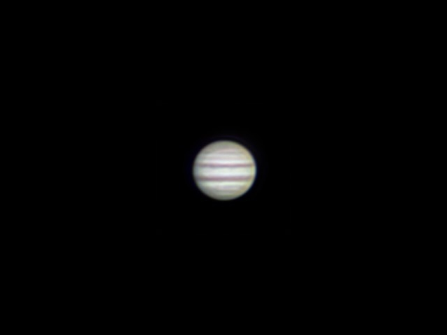 Jupiter with Canon EF 70-2004L USM and Barlow lens NPZ PAG 3-5x (5x)