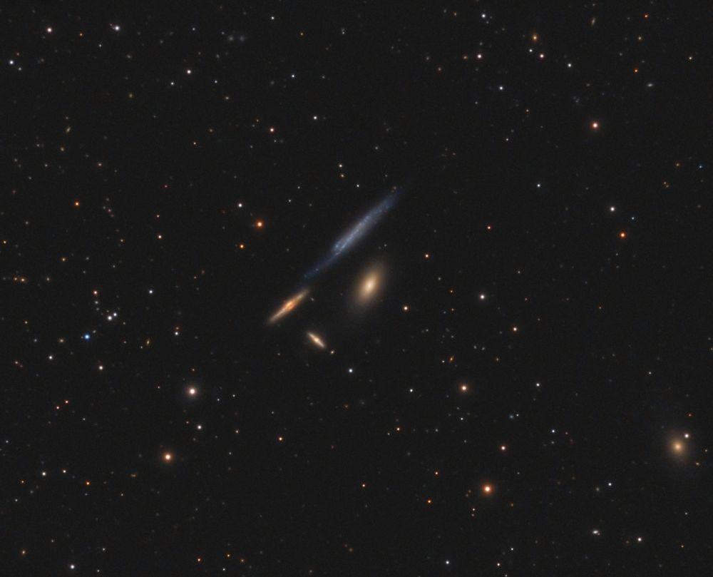 The Box, galaxy group Hickson 61 (HCG 61)