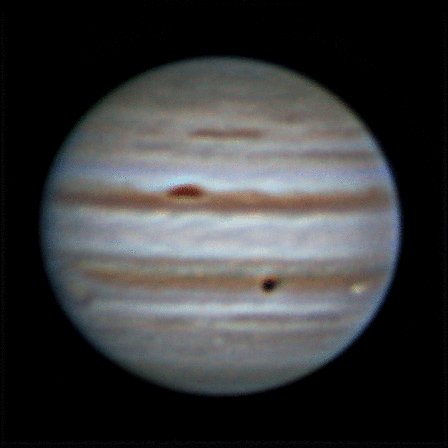 Rotation of Jupiter, 24 nov 2011, 22:50-23:08 (maybe wrong date)