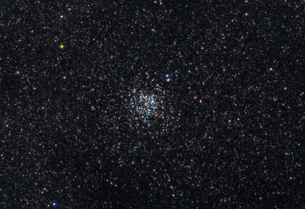 М 11-в созвездии Щита(цвет)