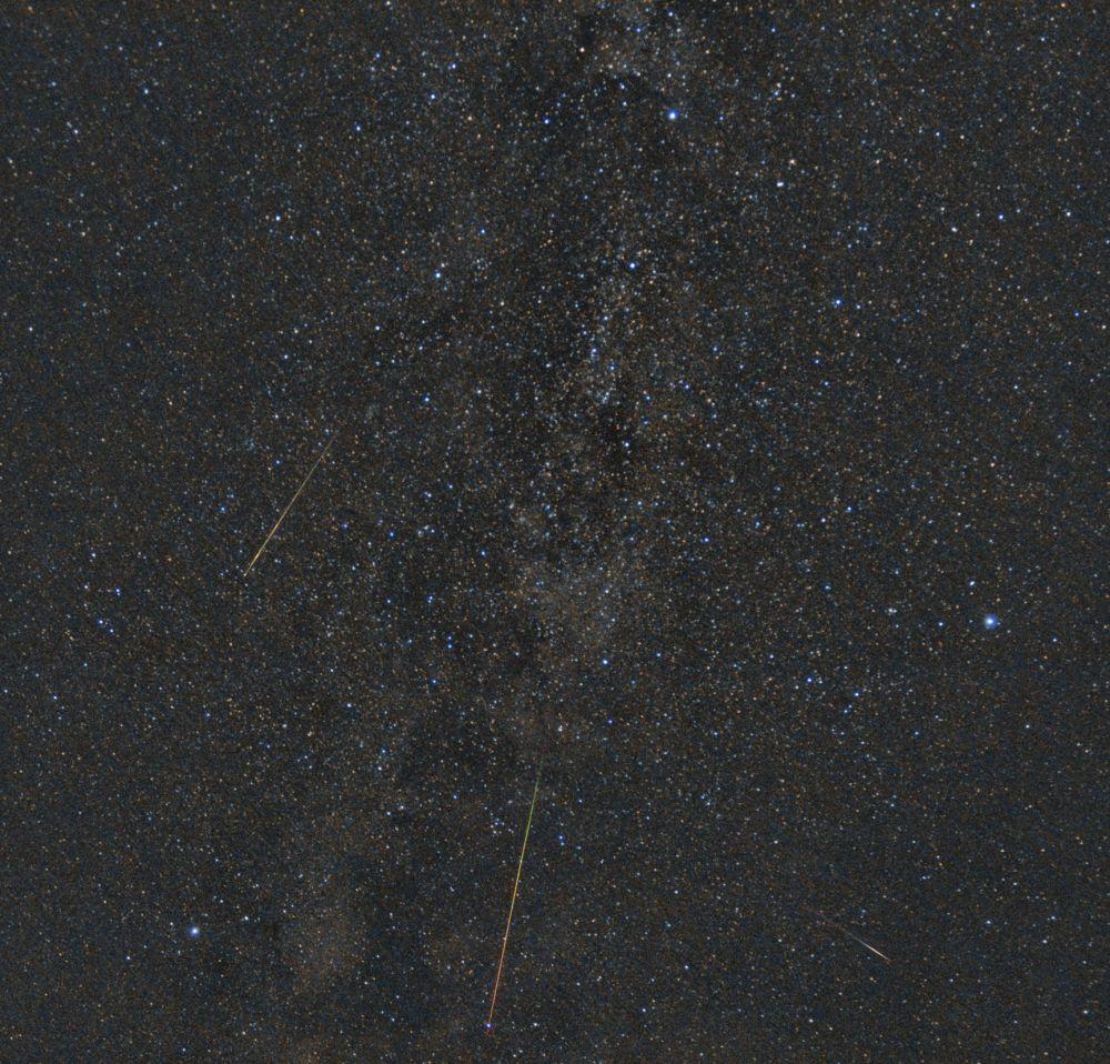 Perseid meteors 2019