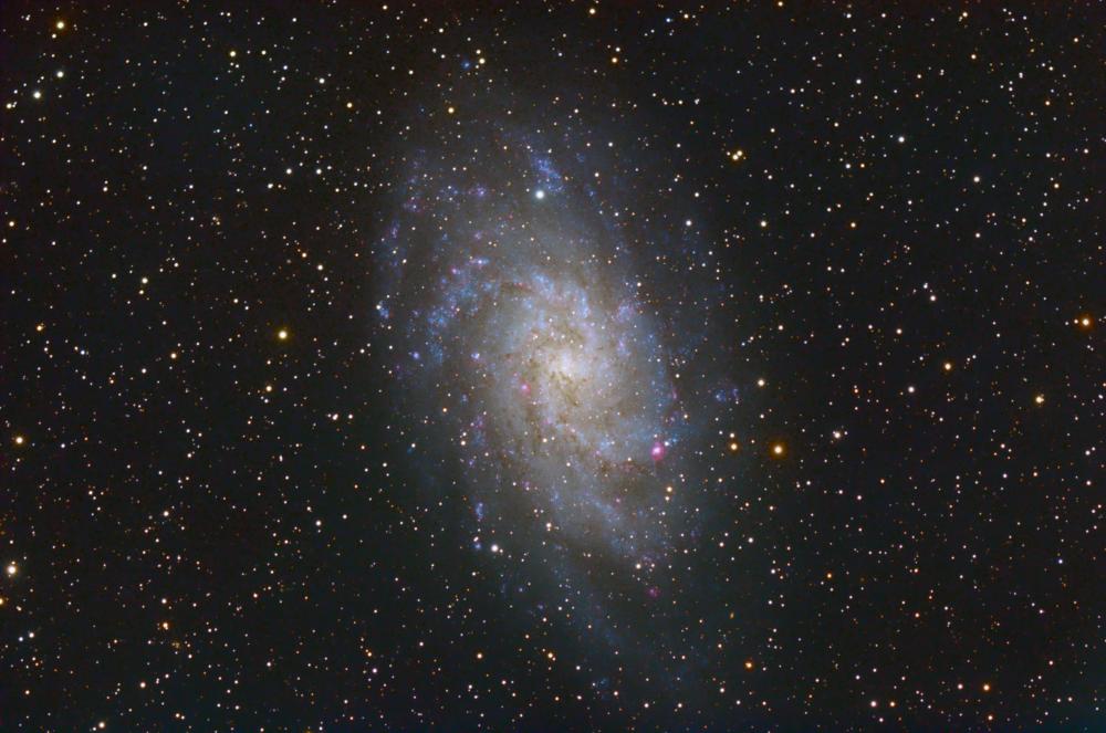 Галактика М33 (M33 Galaxy) вариант2