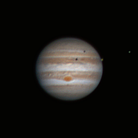 Double Eclipse on Jupiter 29.05.2017