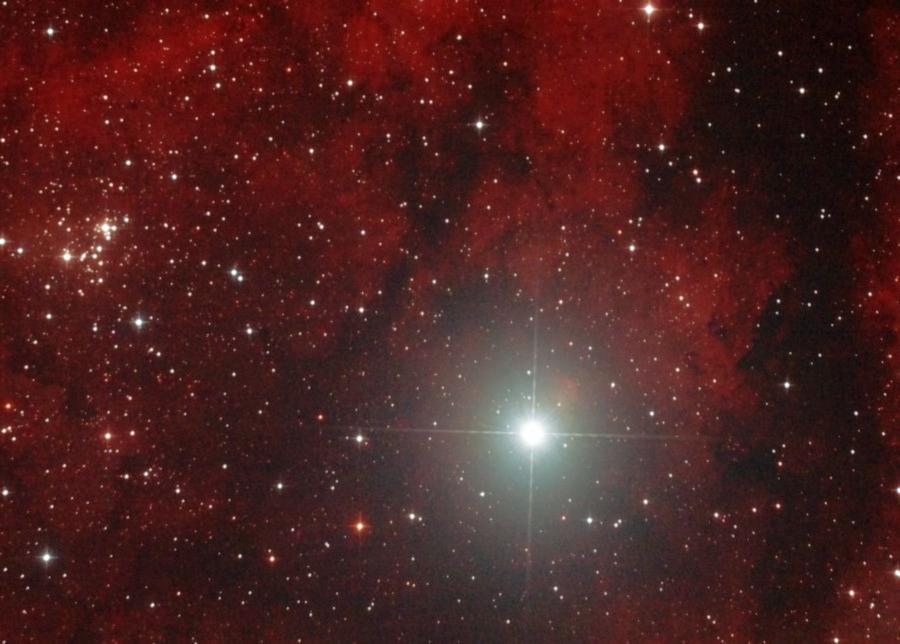 NGC 6910 и Садр