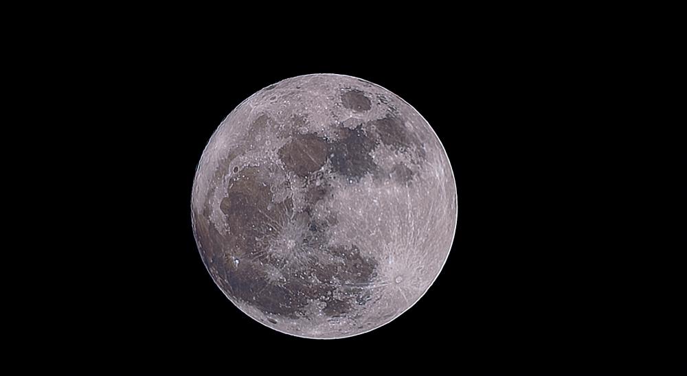 Луна. 01.10.2020