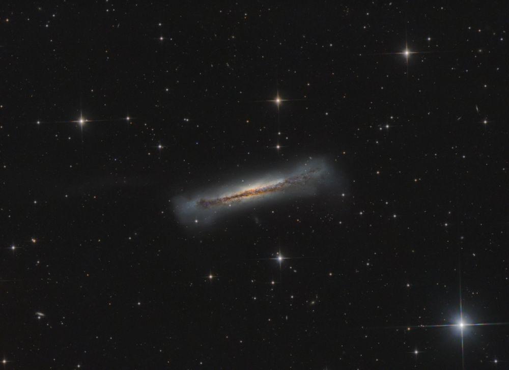 NGC 3628 - астрофотография