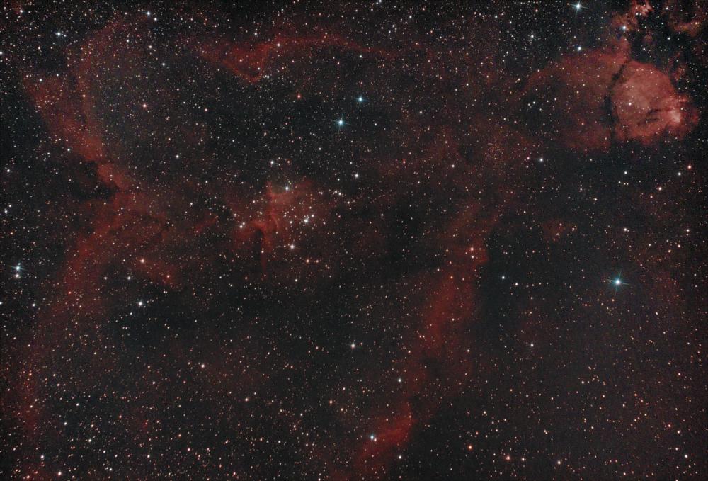 """Туманность IC1805  """"Сердце"""""""