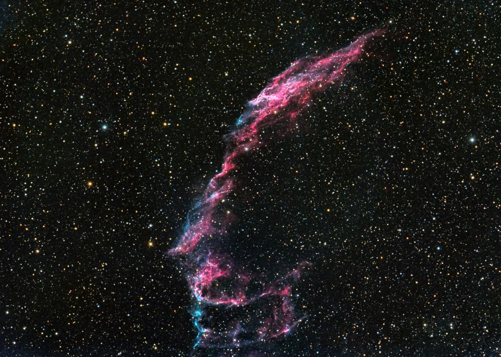 """Туманность """"Вуаль"""", NGC6992"""