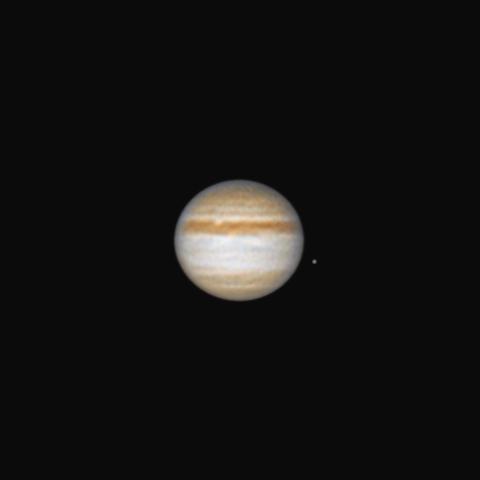 Jupiter & Europa 30.07.2010