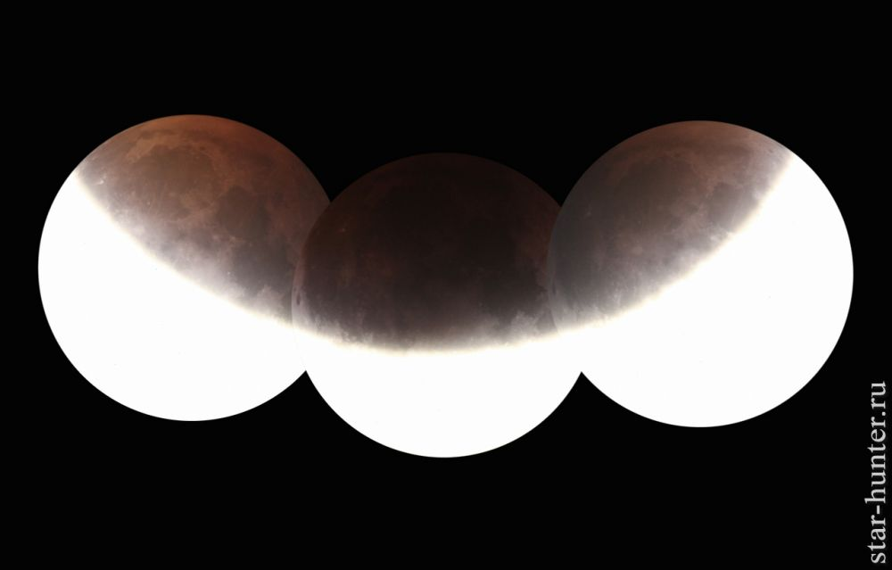 Lunar eclipse, 16-17/07/2019