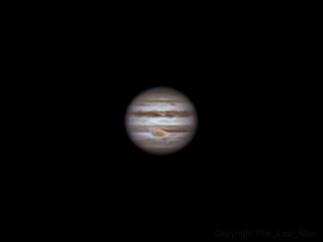 Jupiter, 24 january 2015, 23:04