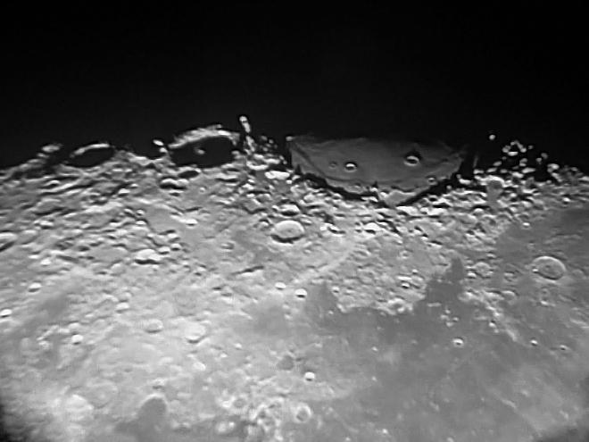 Первые лунные кратеры (2)