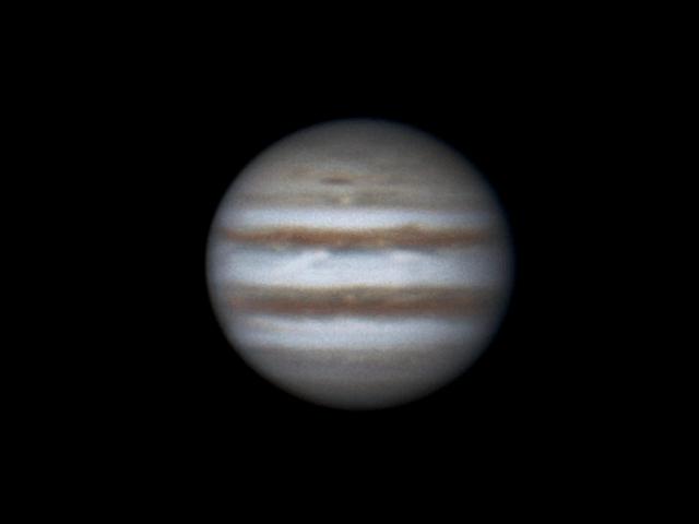 Jupiter, 11 november 2013, 3:26-4:37