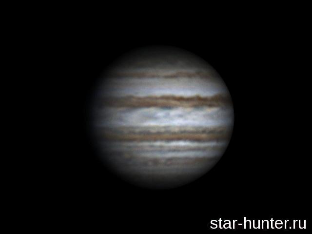 Flying around Jupiter (22:14-00:09, 04-05 feb 2015)