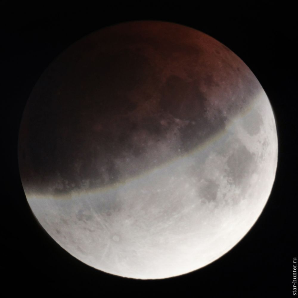 Lunar eclipse, 17/07/2019, 00:05 (UTC +3).