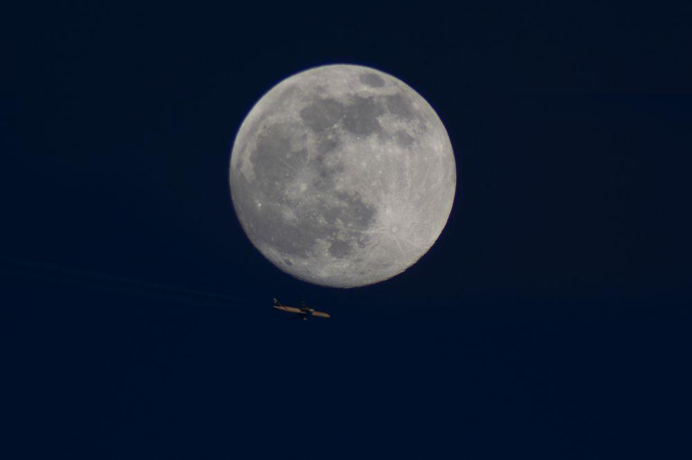 Полет под Луной