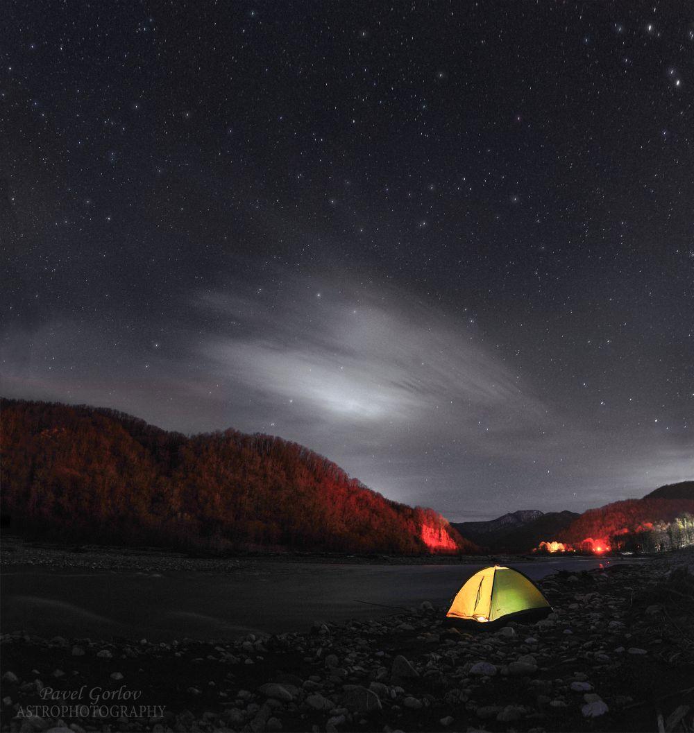 Вечер под звёздами у села Солохаул