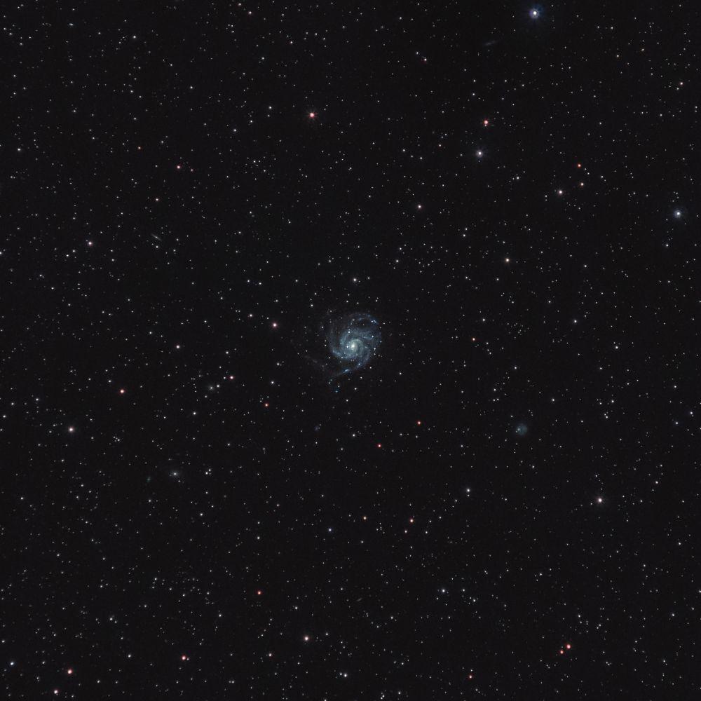 M101 Галактика Вертушка