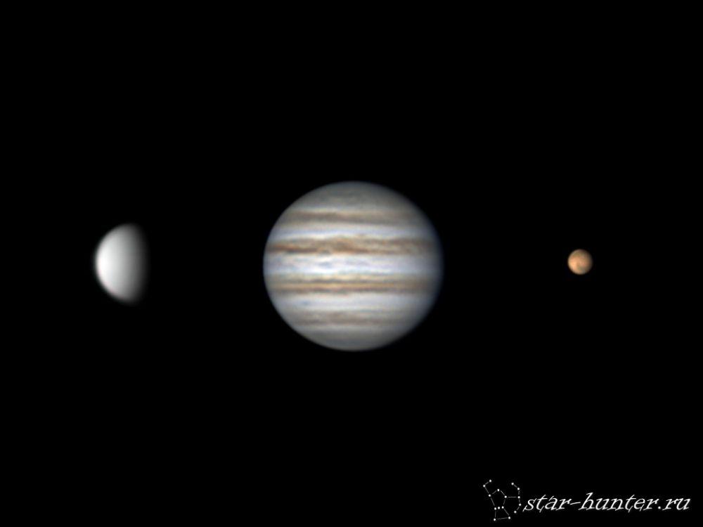 Venus, Jupiter, Mars (17 december 2015)