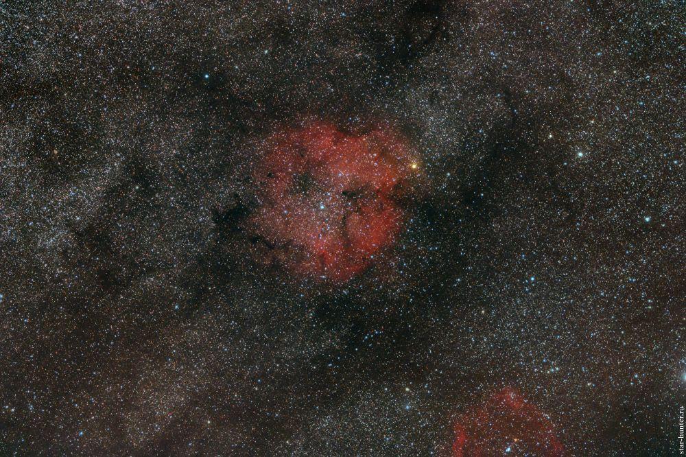 IC 1396 nebula. September 4, 2019.