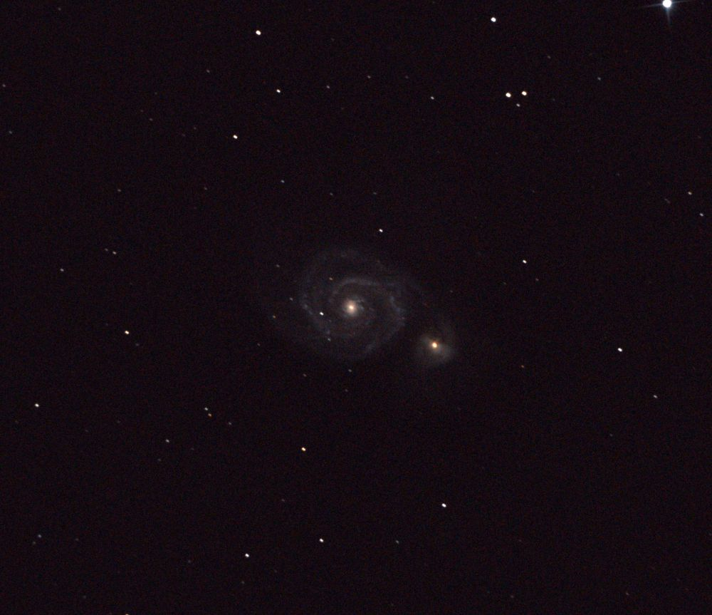 M51 and NGC 5195 Galaxies