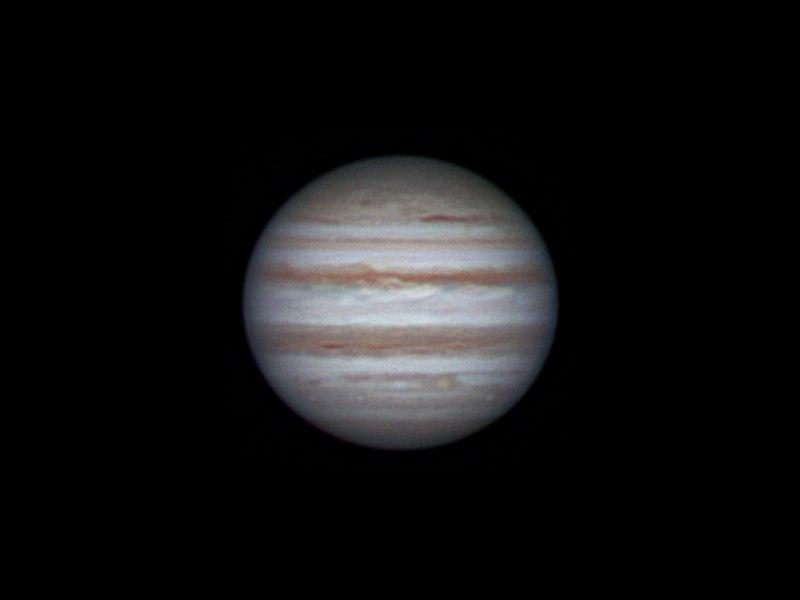 Jupiter, 5 january 2014, 00:19