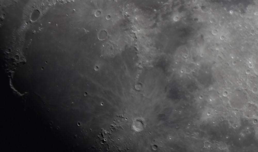 Залив Радуги, Платон и Коперник