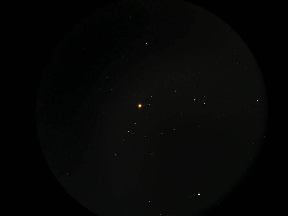 Гранатовая звезда в Цефее