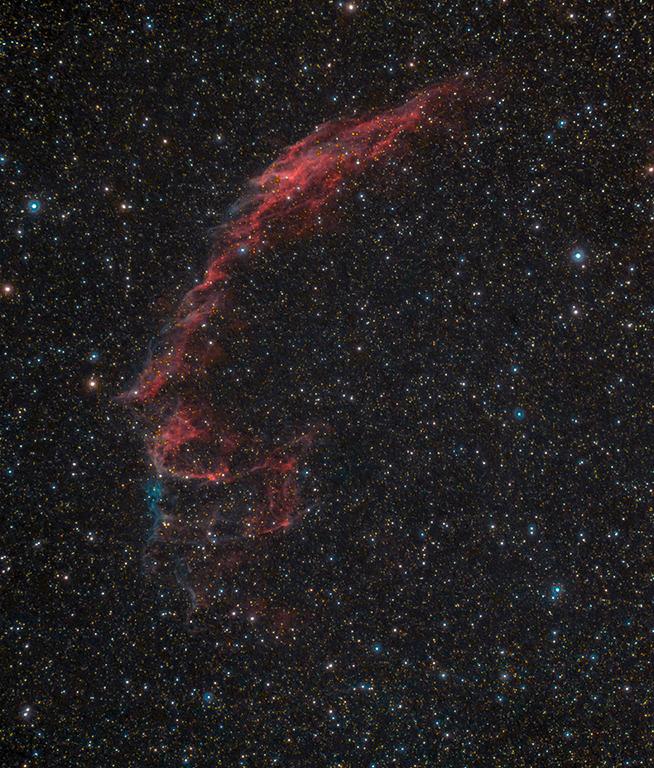 NGC 6992.Новая версия.