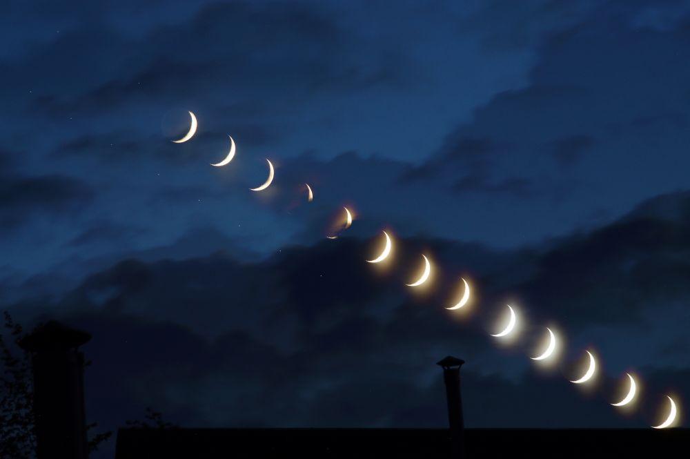 Заход Луны. 15.05.2021