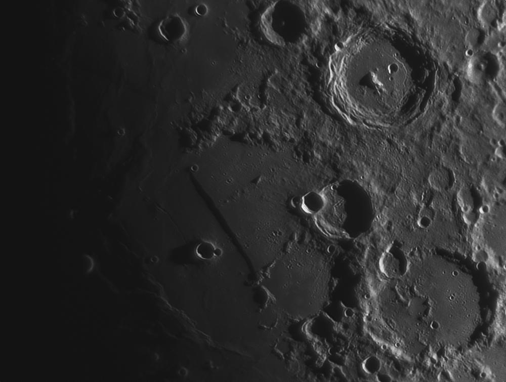 Луна 12.05.2019. Rupes Recta, Arzachel, Alpetragius.