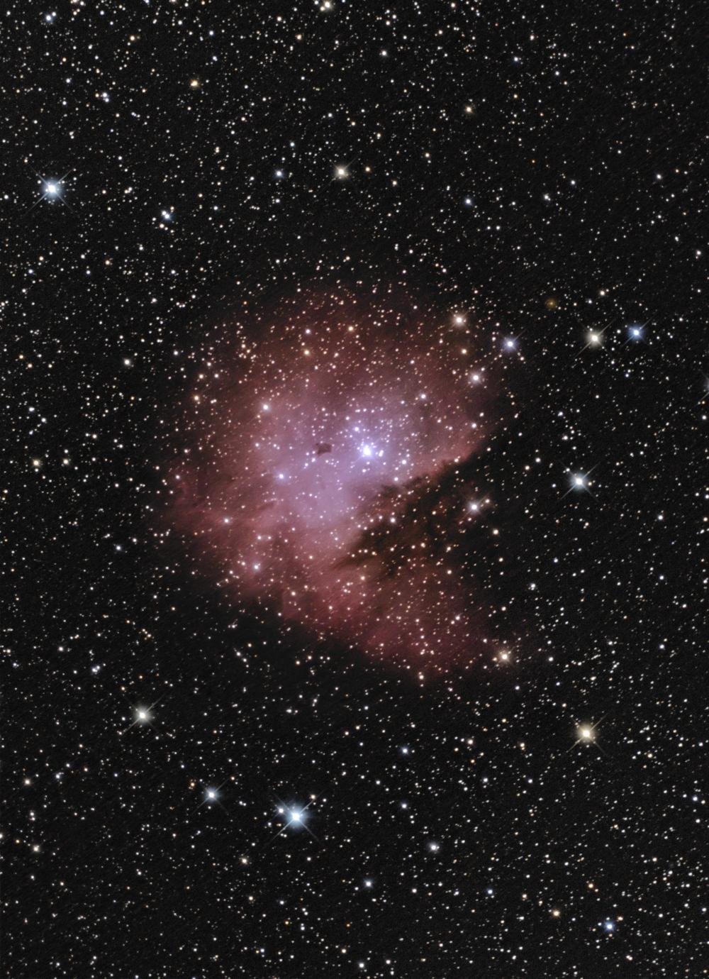 """Туманность NGC 281 """"""""Pacman"""" (переработанный материал)"""
