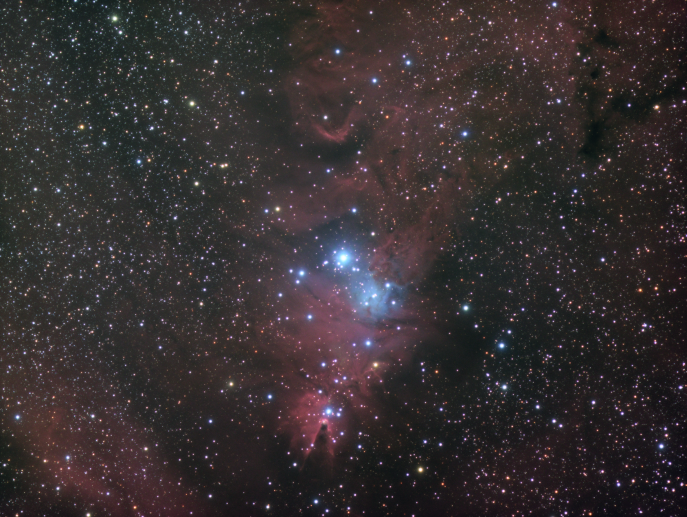 NGC 2264 HaRGB