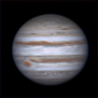 Rotation of Jupiter, 25 dec 2013, 00:43-1:33