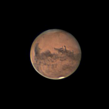 Марс. 1 октября 2020.