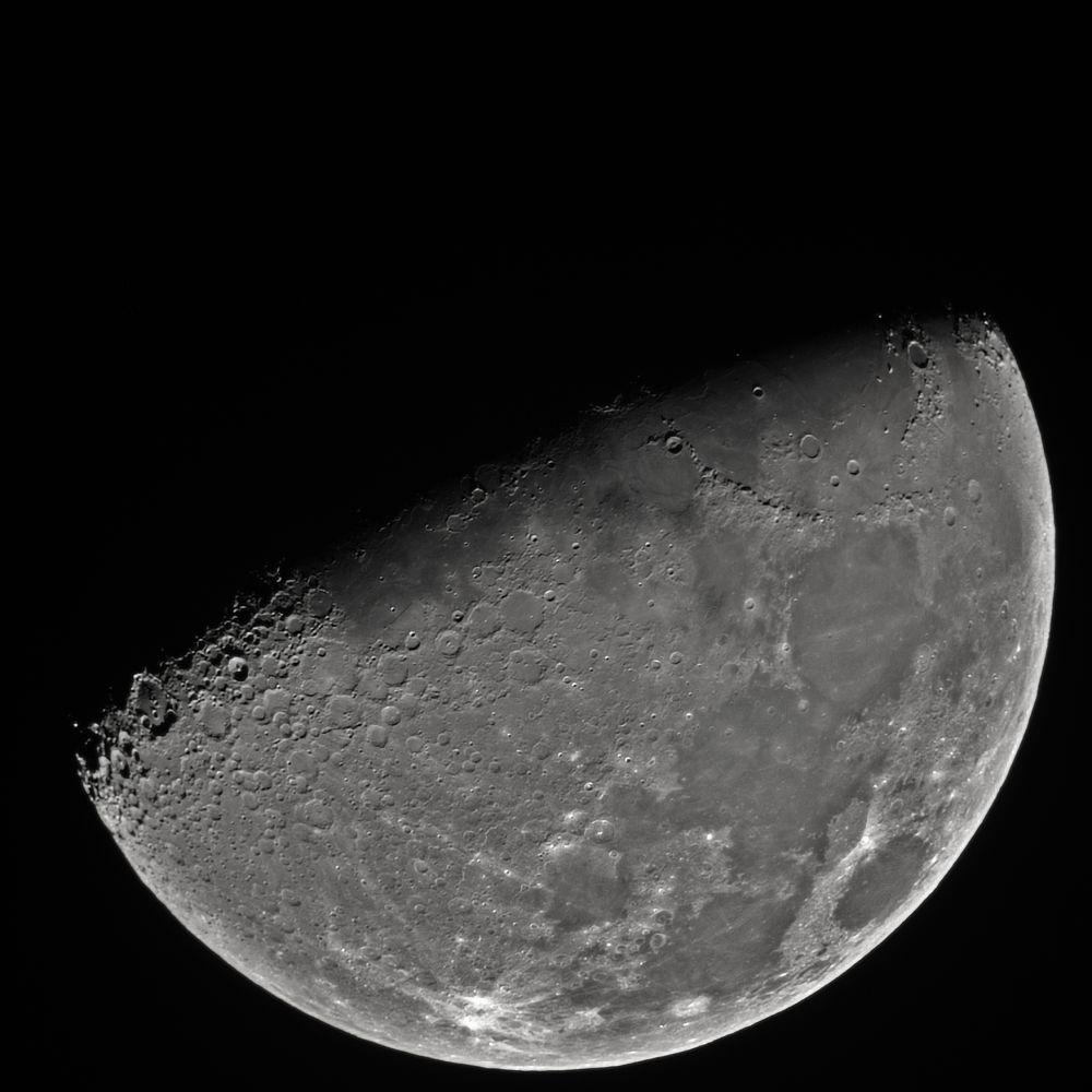 Луна, первая четверть