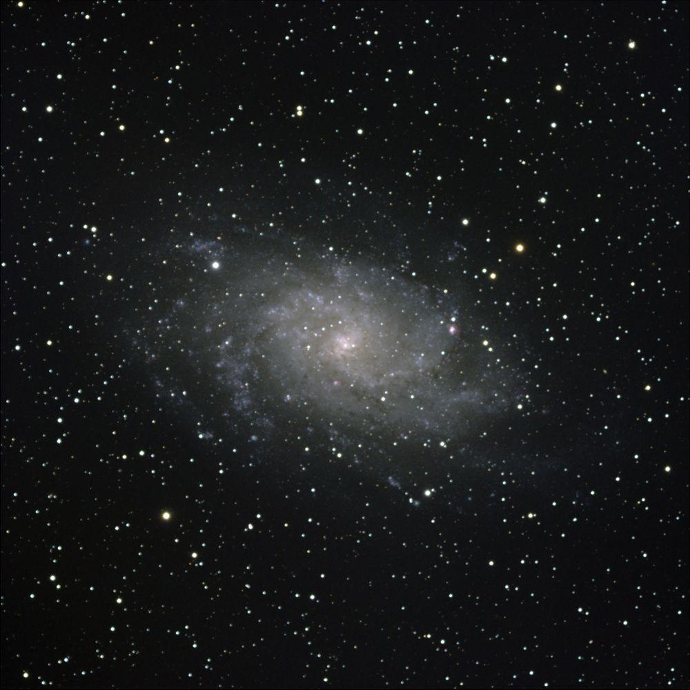 М33 - галактика в Треугольнике