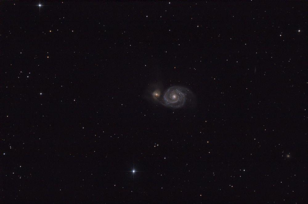 """M51 - Галактика """"Водоворот"""""""
