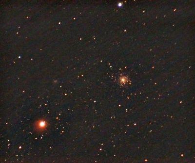 M4 - Шаровое скопление - астрофотография