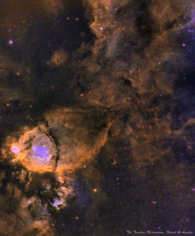 Koi Fish IC1805 - астрофотография