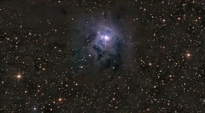 IRIS Nebula (NGC_7023) - астрофотография
