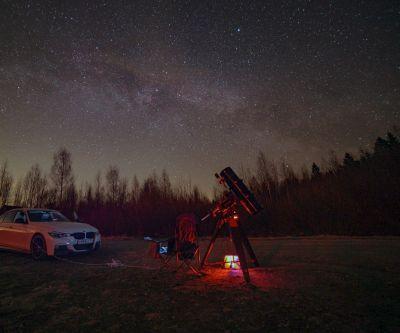 Milky Way - астрофотография