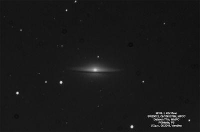 M104 - астрофотография