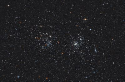 Double Cluster h & Chi Persei -  NGC 869 & NGC 884 - астрофотография