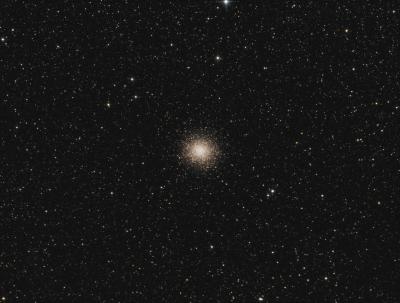 M 14 Ophiuhus globular cluster LRGB - астрофотография