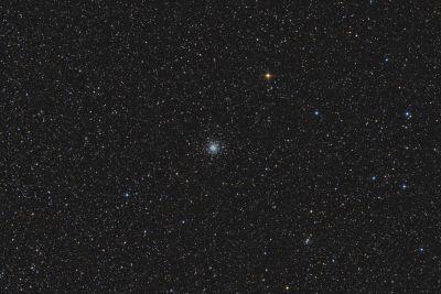 Globular cluster M56 - астрофотография