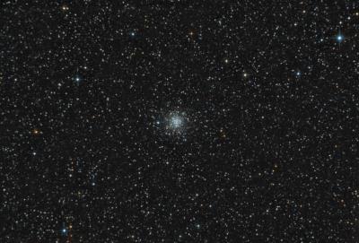 М56 шаровое скопление в созвездии Лира - астрофотография