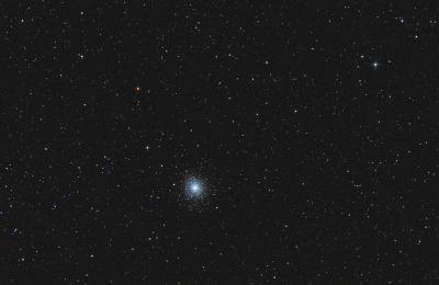 Globular cluster M92 - астрофотография